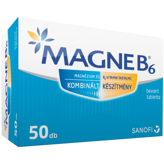 Magne B6 bevont tabletta 50x