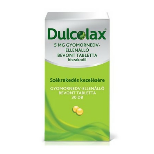 Dulcolax 5 mg Gynedv. Ell.Bevont Tabletta 30x