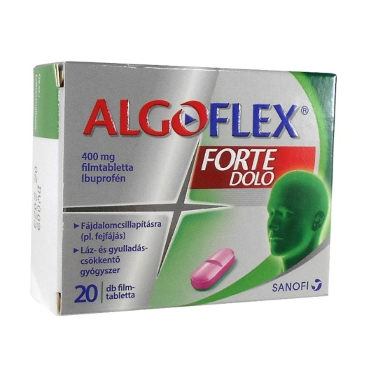 Algoflex 400mg/Forte Dolo Filmtabletta 20x