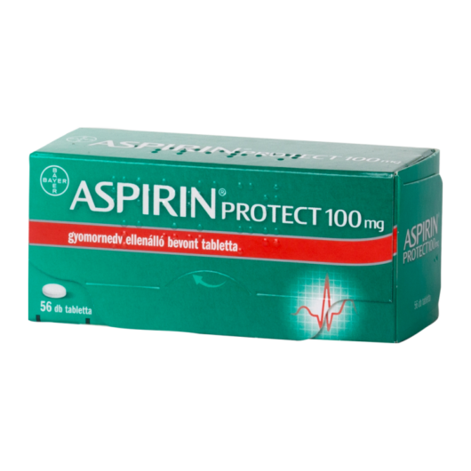 Aspirin Protect 100 mg Gynedv.Ell.Bevont Tbl. 56x